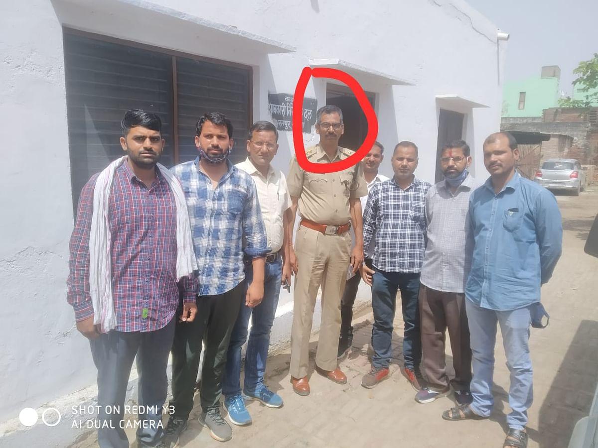 भरतपुर आबकारी प्रहराधिकारी छह हजार रूपये की रिश्वत लेते गिरफ्तार