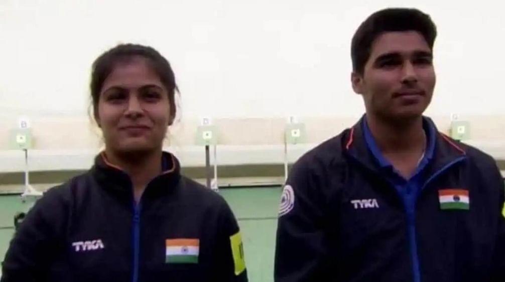 आईएसएसएफ विश्व कप : मनु भाकर और सौरभ चौधरी की जोड़ी ने जीता 10 मीटर एयर पिस्टल मिश्रित टीम स्पर्धा का स्वर्ण