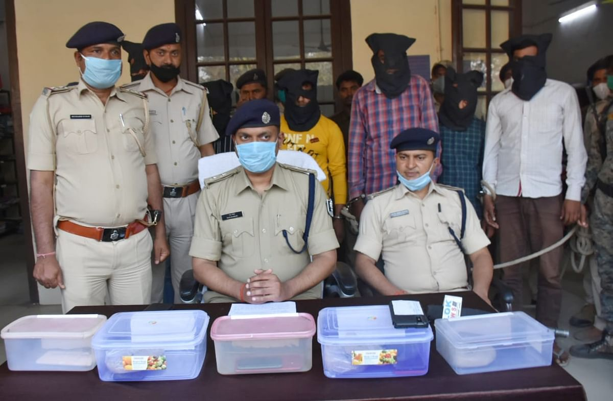 80-lakh-smack-caught-in-purnia-5-arrested