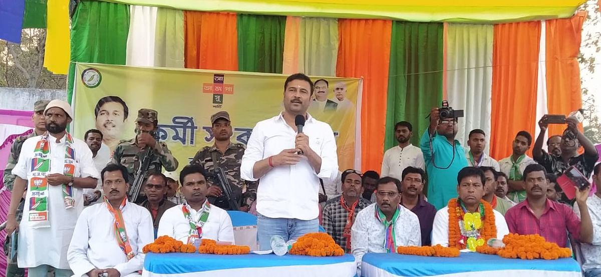 आजसू पार्टी के नेतृत्व में जंगलमहल के लोगों का सपना पूर्ण होगा : सुदेश महतो
