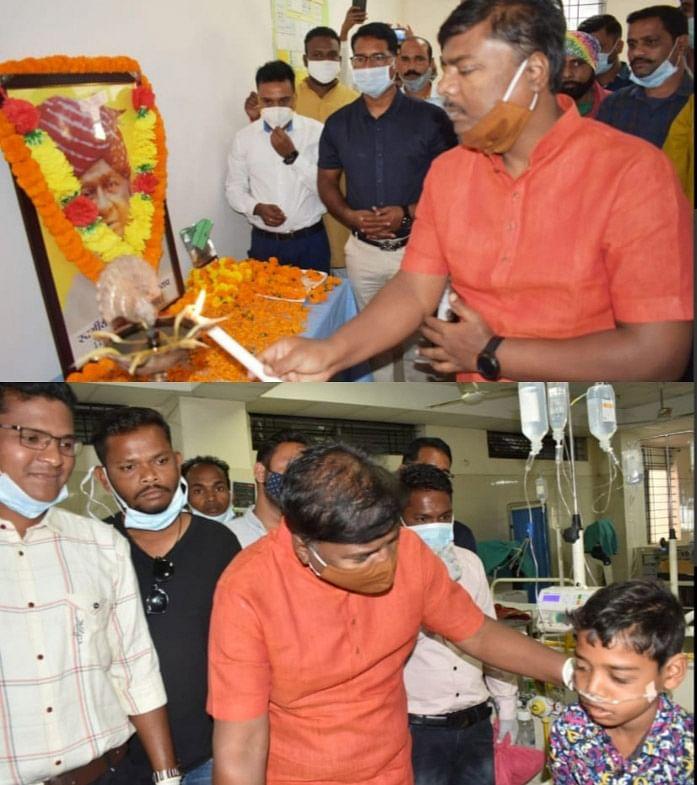 जगदलपुर:मेडिकल कॉलेज डिमरापालमें स्व. बलीराम कश्यप को दी गई श्रद्धांजलि