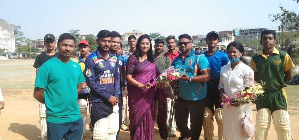 महुआ माजी ने किया दिव्यांग खिलाड़ियों का हौसलावर्द्धन