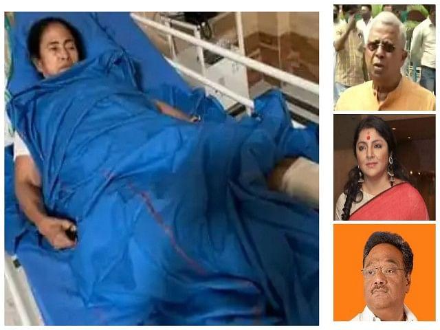एसएसकेएम अस्पताल पहुंचे भाजपा नेताओं को ममता से नहीं मिलने दिया गया