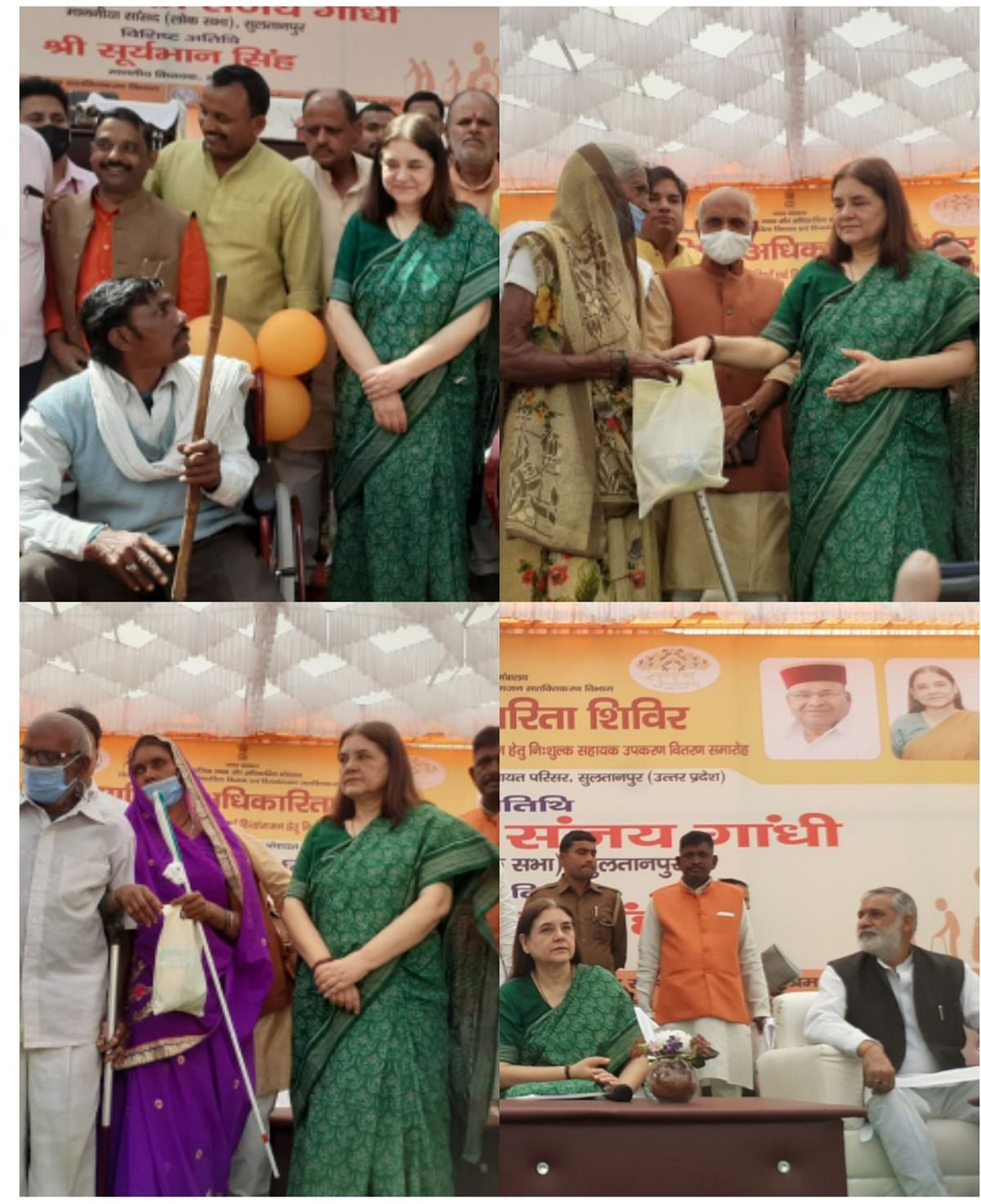 first-hospital-for-differently-abled-in-atal-government-opened-in-pilibhit-maneka-gandhi