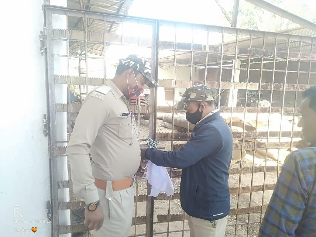 जिले की दो आरा मिल सील, 37 घन मीटर अवैध लकड़ी जब्त, जिला वन विभाग की कार्रवाई जारी