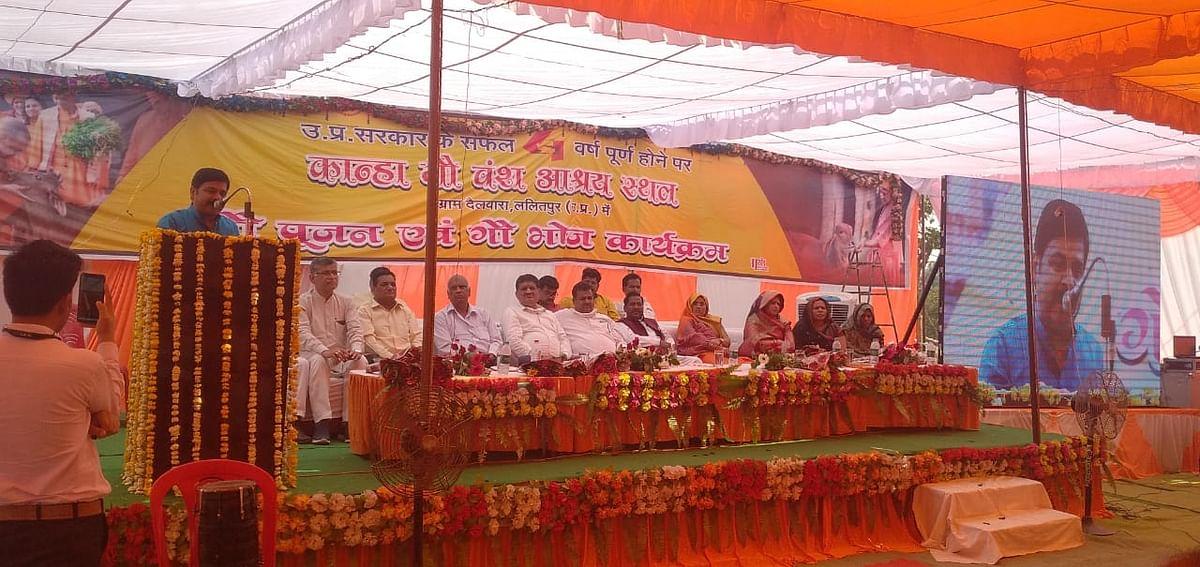 योगी सरकार ने चार वर्षों में गोवंशों के संरक्षण के लिए चलाई अनेक योजनाएं : नागेंद्र गुप्ता