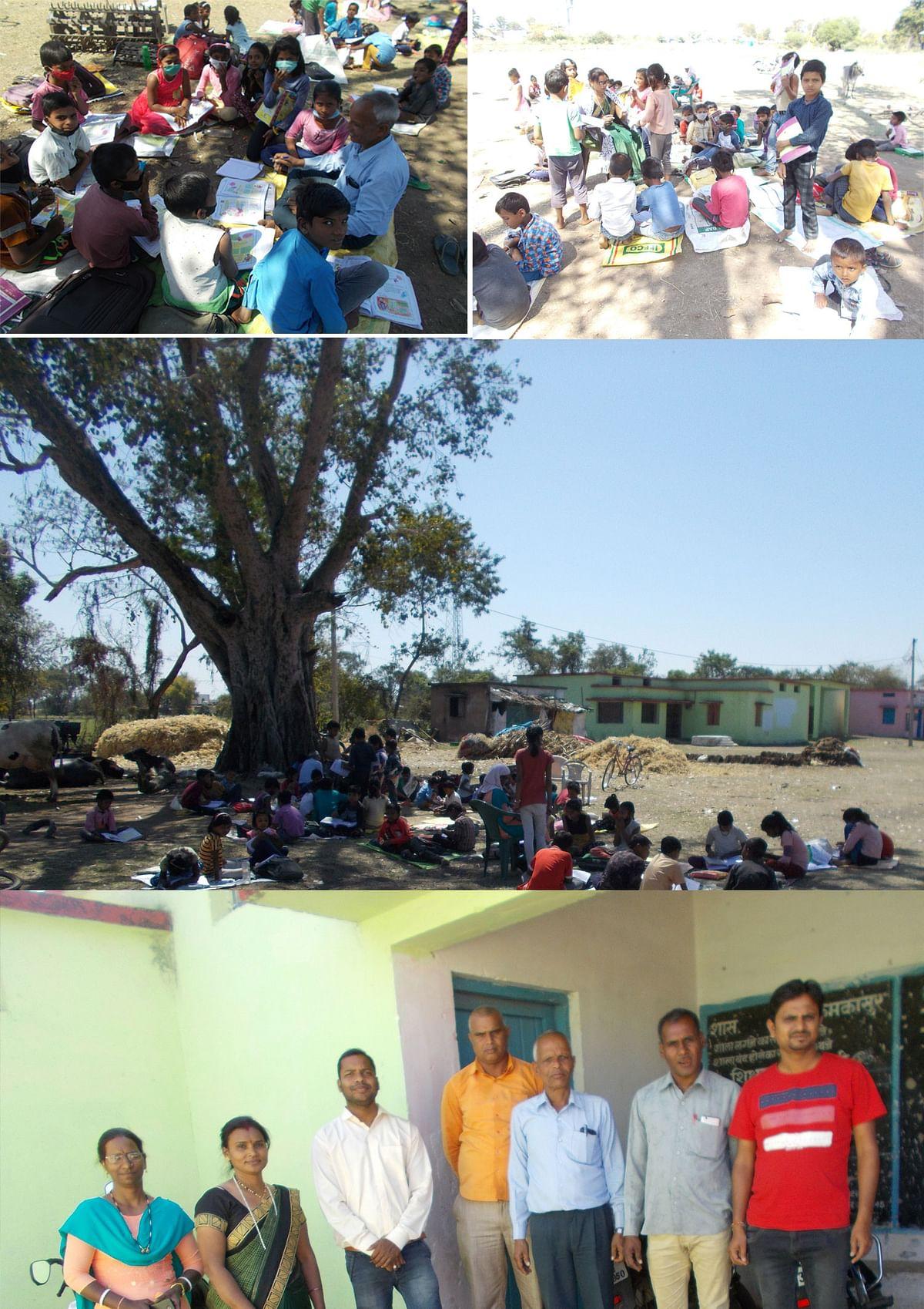 घर-घर क्लास की नई अलख जगा रहा कमकासुर स्कूल