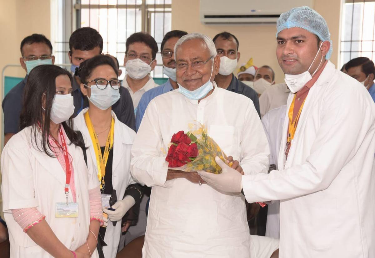 बिहार में फ्री वैक्सीनेशन, पत्रकारों के टीकाकरण के लिए जल्द कराया जाएगा इंतजामः मुख्यमंत्री