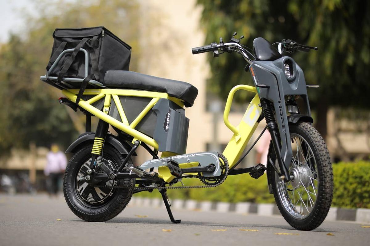 आईआईटी ने तैयार किया 20 पैसा किमी की दर से चलने वाला इलेक्ट्रॉनिक स्कूटर होप'