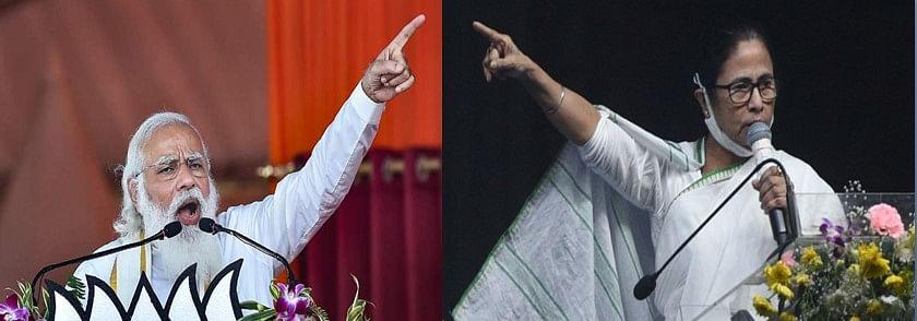 प. बंगालः बीजेपी और टीएमसी में सिमटा विधानसभा चुनाव