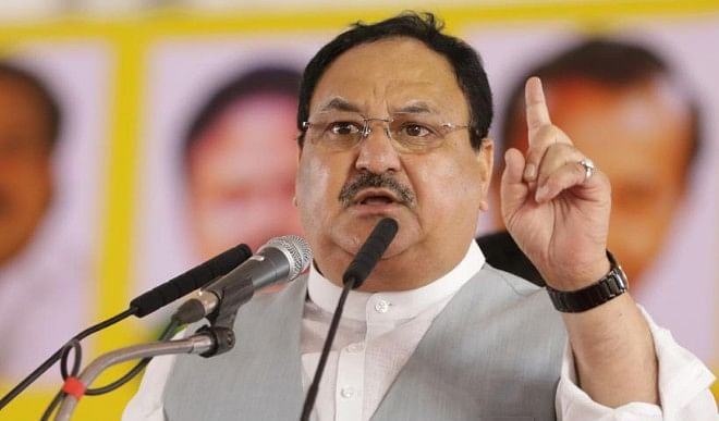 द्रमुक और कांग्रेस के 'भ्रष्टाचार और वंशवाद की राजनीति' को खारिज करें: जे पी नड्डा