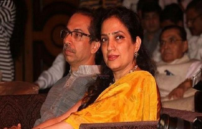 मुख्यमंत्री उद्धव की पत्नी रश्मि की तबीयत बिगड़ी, अस्पताल में भर्ती
