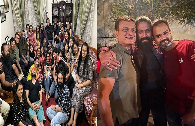 प्रशांत नील ने शेयर की फिल्म 'केजीएफ' के सेट से बीटीएस तस्वीरें