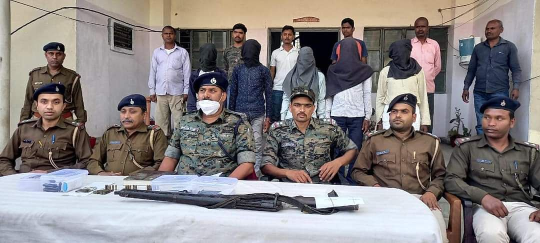 five-tspc-and-plfi-militants-arrested-arms-also-recovered
