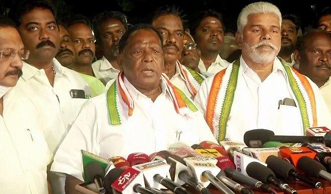 मुख्यमंत्री पद का दावेदार नहीं, पार्टी को मजबूत करने के लिए काम करूंगा: नारायणसामी