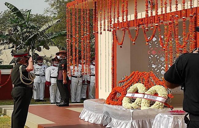 परमवीर चक्र विजेता शहीद कैप्टन मनोज पांडेय का नाम सदैव रहेगा अमर: थल सेनाध्यक्ष