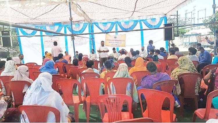 रायपुर : अंबेडकर अस्पताल के अधीक्षक को हटाने कर्मचारियों ने खोला मोर्चा, किया एक दिवसीय प्रदर्शन