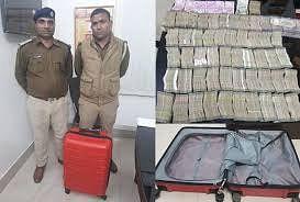 ट्रेन में मिले 1.40 करोड़ रुपये को 'केस प्रापर्टी' न बनाने से गठजोड़ का इशारा