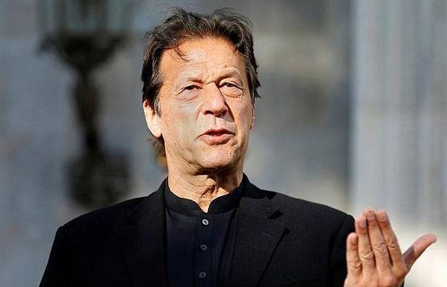 पाकिस्तान भी चाहता है भारत के साथ शांति व सहयोगपूर्ण संबंध: इमरान खान