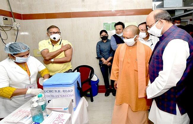 उप्र: बुजुर्गों-बीमारों के कोराना टीकाकरण को बढ़ाई जाएगी केन्द्रों की संख्या