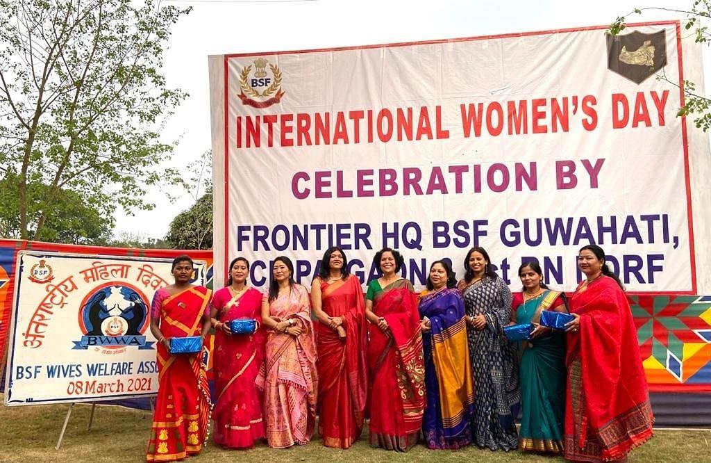 सीमांत मुख्यालय बीएसएफ व प्रथम एनडीआरएफ गुवाहाटी ने मनाया अंतरराष्ट्रीय महिला दिवस