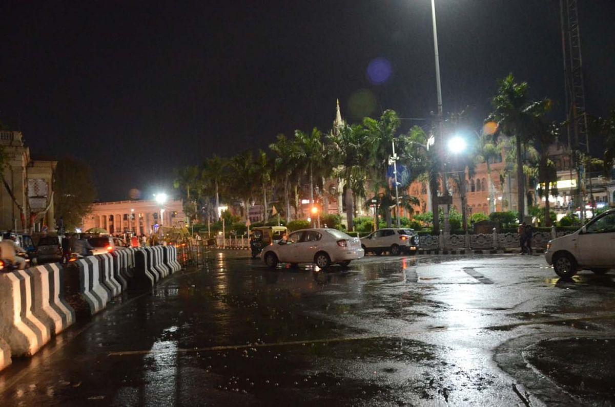फिर बिगड़ा मौसम, तेज हवाओं के साथ हुई बारिश