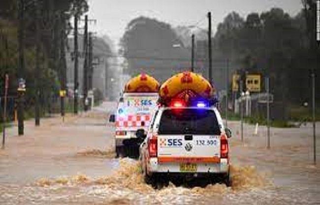 ऑस्ट्रेलियाः भीषण बाढ़ से हालात गंभीर, हजारों लोगों को सुरक्षित स्थान पर पहुंचाया गया