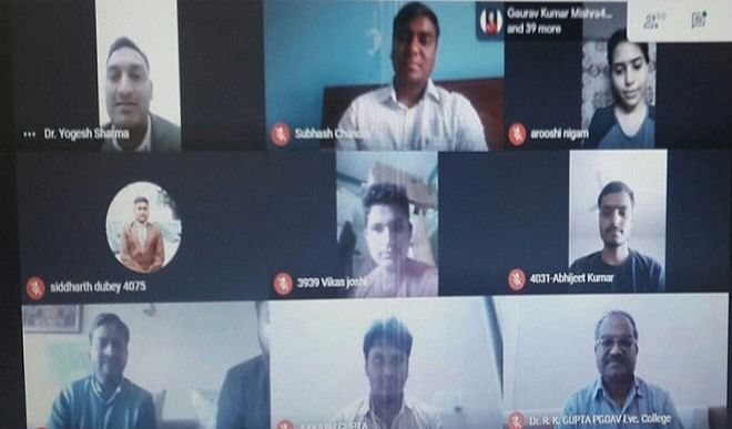 संस्कृत और कम्प्यूटर विषयक ववेबिनार में बोले डॉ सुभाष चंद्र, संस्कृत से प्रोग्रामिंग सीखना आसान