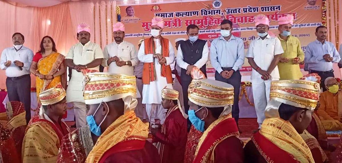 गरीब कन्याओं का सीएम योगी करा रहे विवाह : चन्द्रिका उपाध्याय