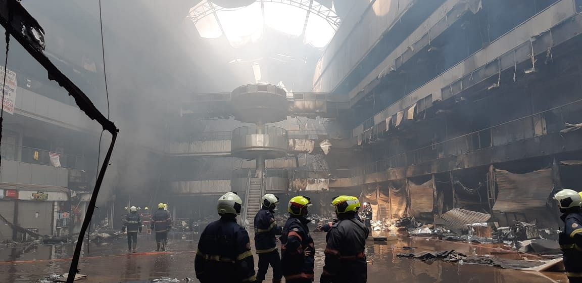 सरकार और प्रशासन की लापरवाही के कारण हुई ड्रीम मॉल की घटना: भाजपा