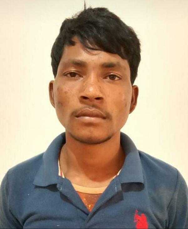 बीजापुर : विस्फोटक के साथ एक नक्सली गिरफ्तार