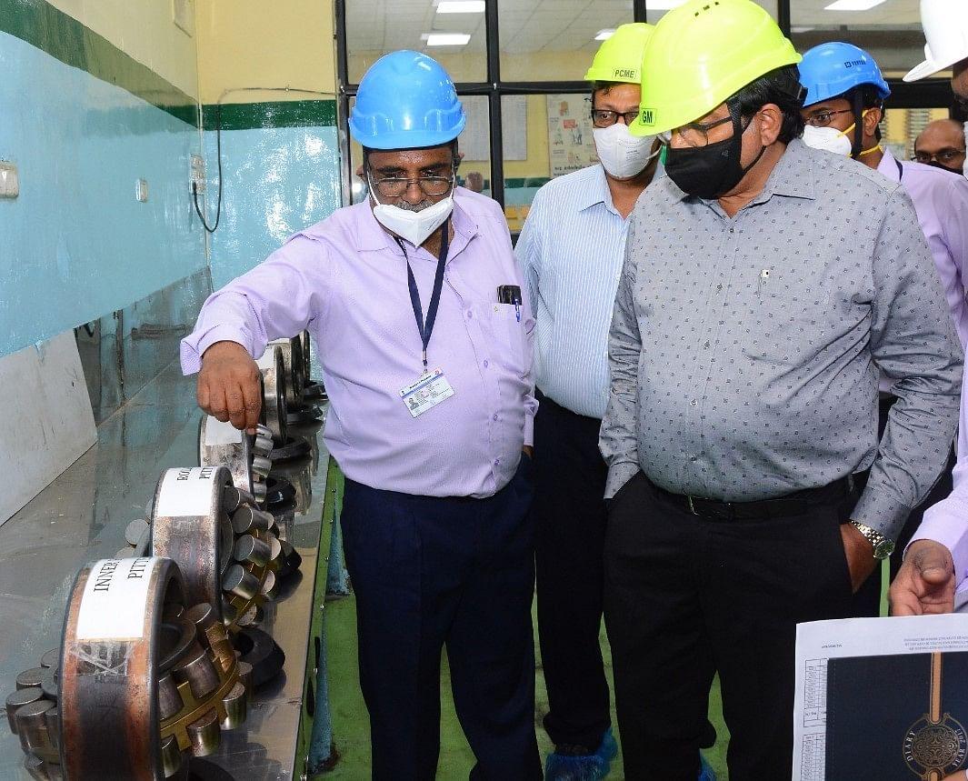 पश्चिम रेलवे के महाप्रबंधक ने किया भावनगर कारखाने का वार्षिक निरीक्षण