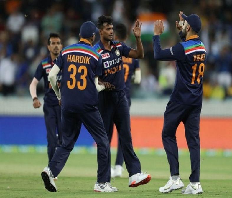आईसीसी टी-20 रैंकिंग में दूसरे स्थान पर पहुंची भारतीय क्रिकेट टीम
