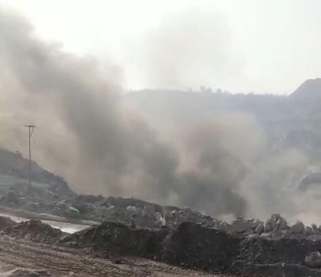 बीसीसीएल के लोदना क्षेत्र में जोरदार आवाज के साथ विस्फोट, जहरीली गैस और धुएं से मची अफरा-तफरी