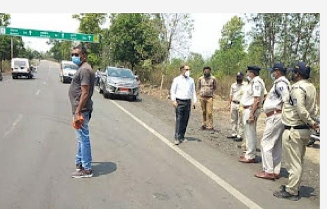 पुलिस कप्तान ने सीमा क्षेत्र मेंं व्यवस्थाओं का लिया जायजा, बल बढ़ाने दिए निर्देश