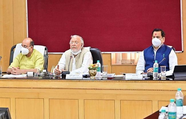 पूर्वांचल एवं बुन्देलखण्ड के सर्वांगीण विकास के लिए गठित मंत्रिपरिषद की उप समिति की बैठक सम्पन्न