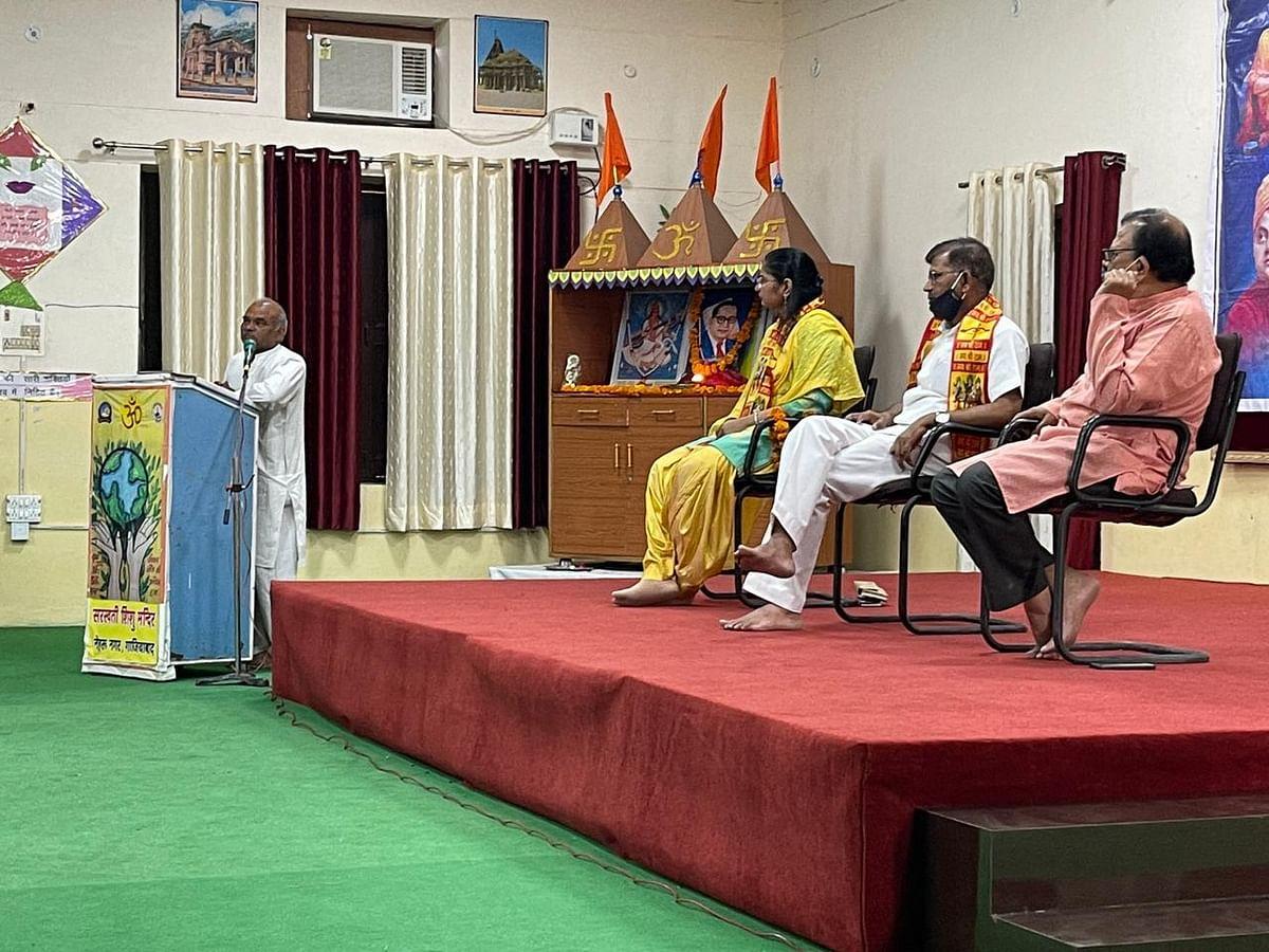 डॉ.आम्बेडकर के रास्ते पर चलकर ही समाप्त हो पाएगा जातीय विद्वेष : श्याम बिहारी