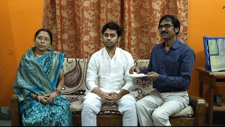 रेल कर्मी का बेटा इसरो में बना वैज्ञानिक, परिवार में हर्ष का माहौल
