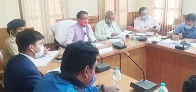 सभी विभाग मानसून से पहले तैयारी पूरी करेंः धन सिंह रावत