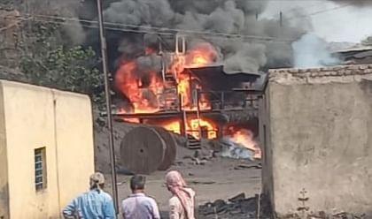 सीकेडब्ल्यू साइडिंग के सीएचपी में लगी आग, रेलवे बीसीसीएल से वसूलेगी जुर्माना
