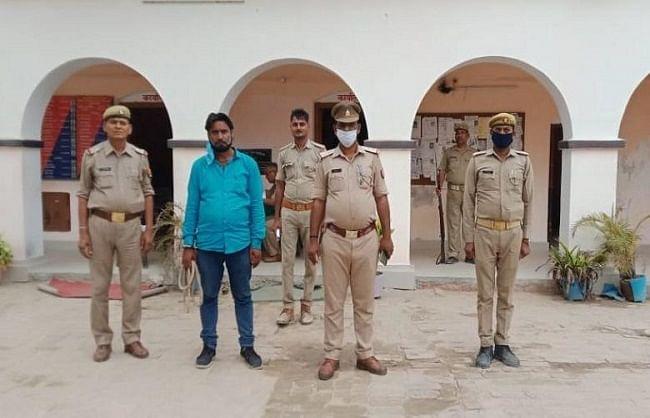धर्म बदलकर लड़की भगाने आया जम्मू-कश्मीर का लव जिहादी गाजीपुर से गिरफ्तार
