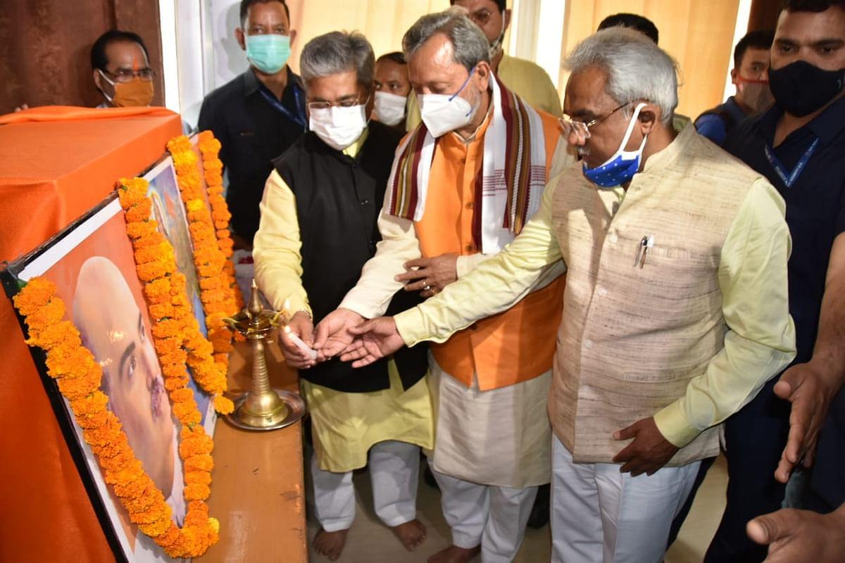 धूमधाम से मना भाजपा का स्थापना दिवस