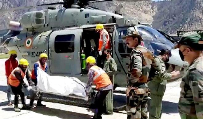 उत्तराखंड के चमोली में आये हिमस्खलन में अब तक 13 लोगों की मौत, बचाव कार्य जारी