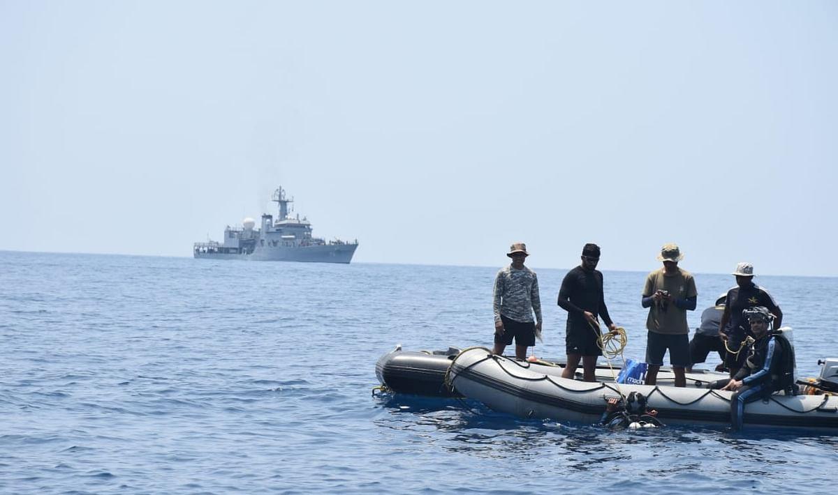 सिंगापुर के जहाज से टकराई नाव, तीन मछुआरों के शव मिले
