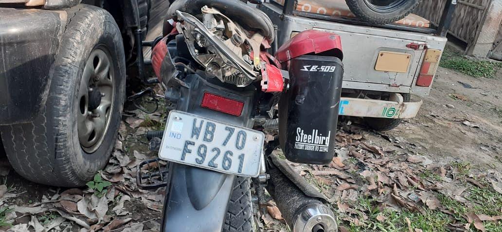 बिलासीपारा में सड़क हादसा, बाइक चालक की मौत