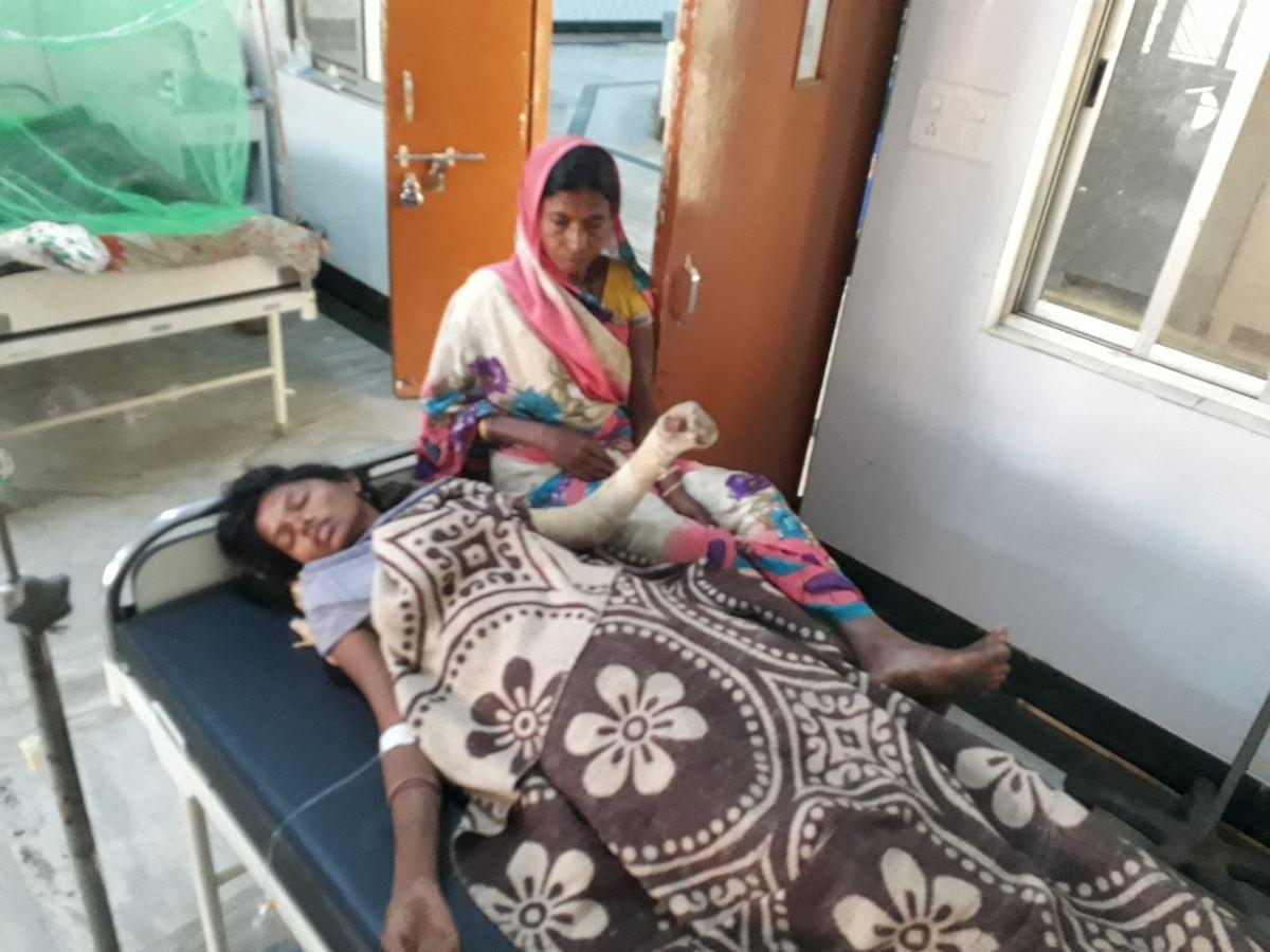आग से झुलसे बच्चे की इलाज के दौरान मौत