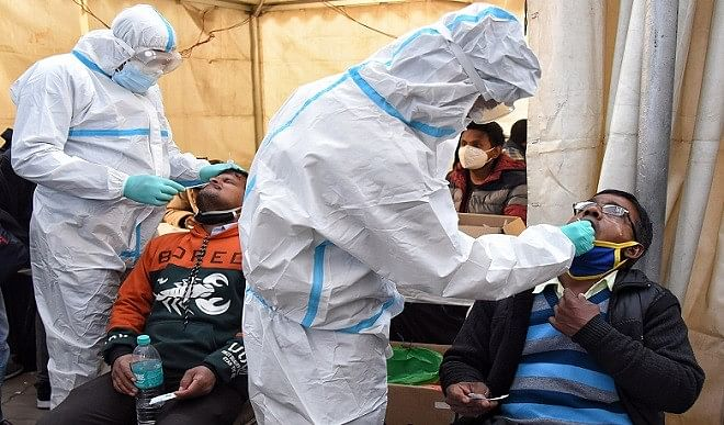 तेलंगाना-में-कोरोना-वायरस-के-965-नए-मामले-पांच-लोगों-की-मौत