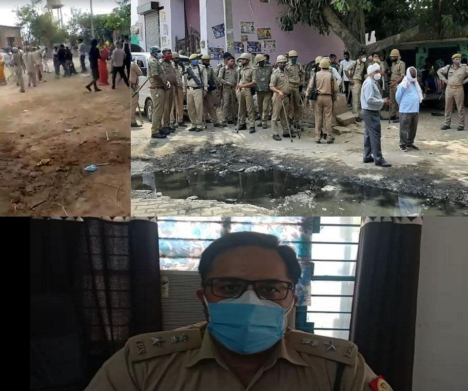 मथुरा : गांव नहारा में फर्जी मतदान होने पर चली दो पक्षों में गोलियां, आठ घायल, 33 गिरफ्तार