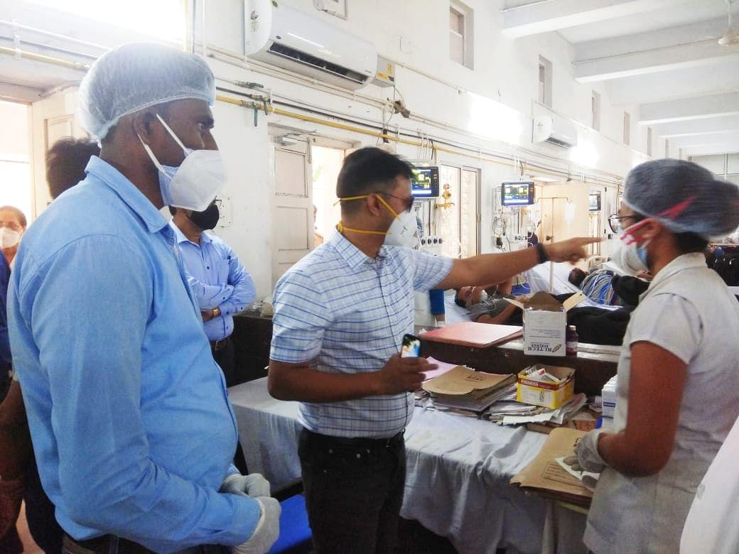 dc-inspects-kovid-hospitals