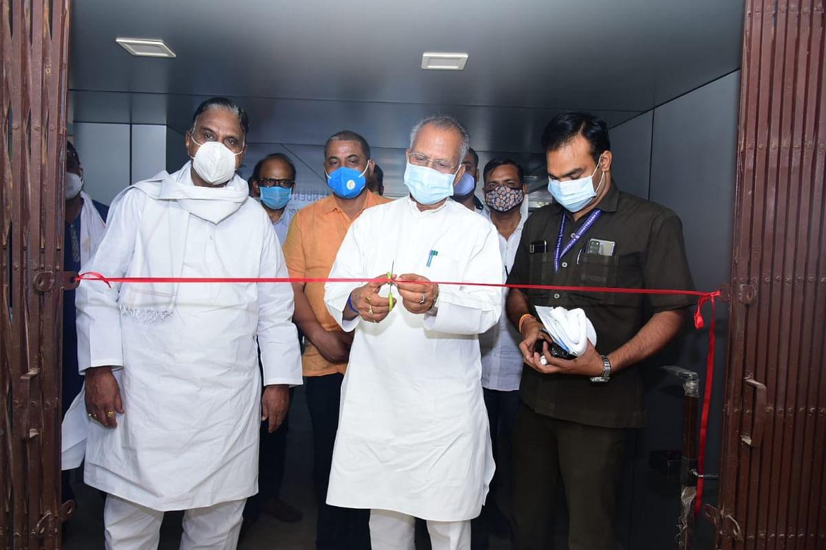गृह मंत्री ने भिलाई में किया 150 बेड के आइसोलेशन सेंटर का शुभारंभ